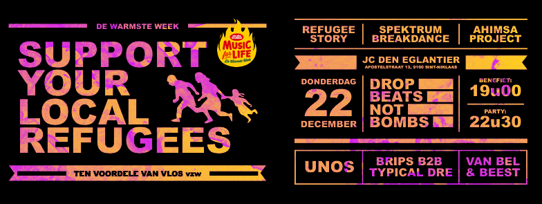 Warmste Week: Support your local refugees
